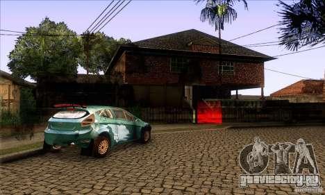Grove Street Retextured для GTA San Andreas пятый скриншот