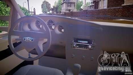 Ford F-350 Unmarked [ELS] для GTA 4 вид сзади