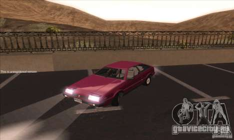 Isuzu Piazza для GTA San Andreas вид слева