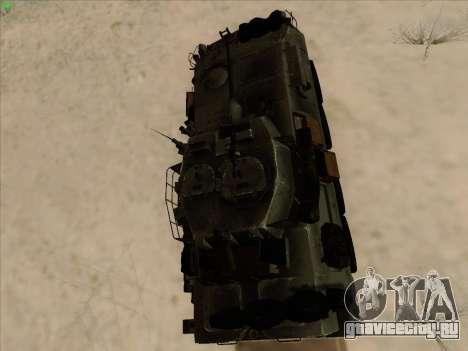 LAV-25 для GTA San Andreas вид сзади