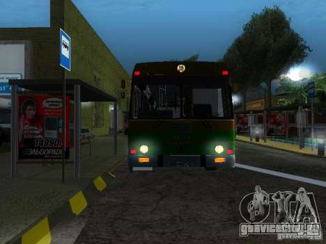 ЛАЗ 4202 для GTA San Andreas вид справа