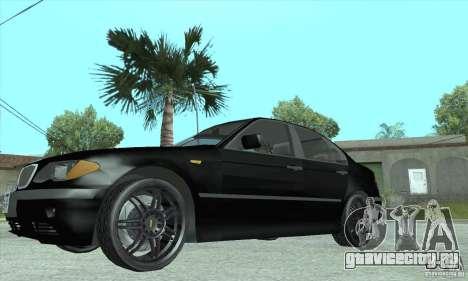 BMW 325i для GTA San Andreas вид справа