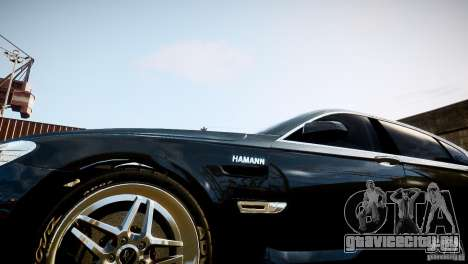 BMW 750Li (F02) Hamann 2010 v2.0 для GTA 4 вид слева