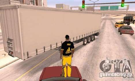 Krone Trailer для GTA San Andreas вид справа