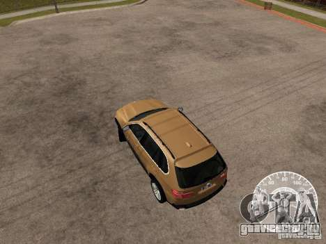 BMW X5 E70 для GTA San Andreas вид сзади слева