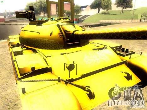 Type 59 v1 для GTA San Andreas вид изнутри