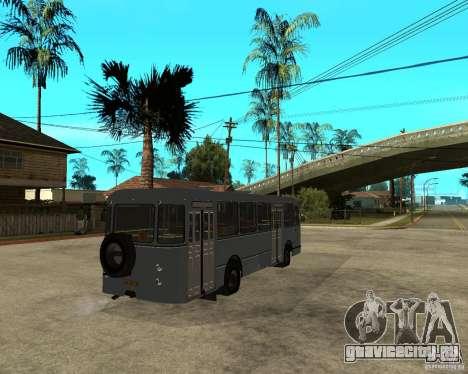 ЛИАЗ 677 для GTA San Andreas вид сзади слева