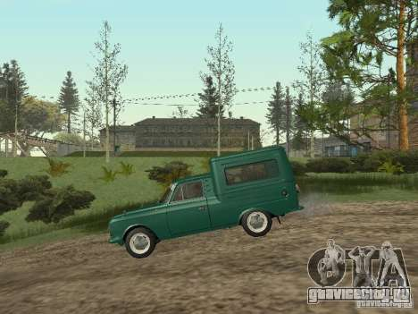 ИЖ 2715 для GTA San Andreas вид сзади слева