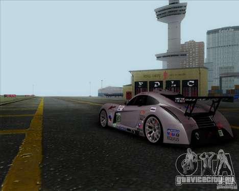 Panoz Abruzzi Le Mans V1.0 2011 для GTA San Andreas вид справа