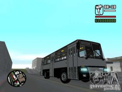 Ikarus 260.06 для GTA San Andreas вид сзади