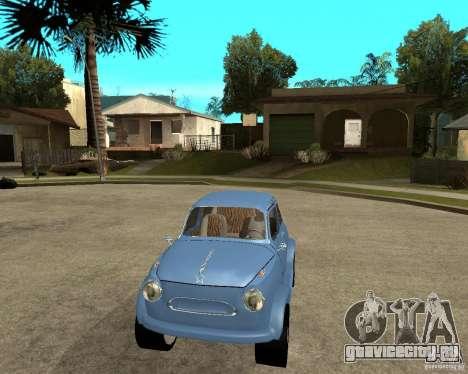 ЗАЗ 965 Запорожец HotRod для GTA San Andreas вид сзади