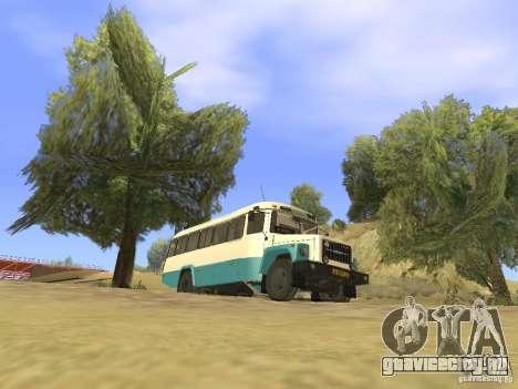 КАВЗ - 39765 длиннобазный для GTA San Andreas вид снизу