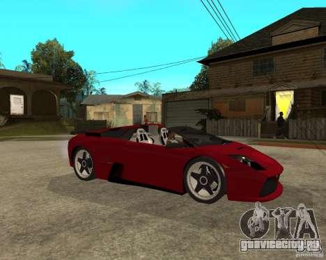 Lamborghini Murcielago SHARK TUNING для GTA San Andreas вид справа
