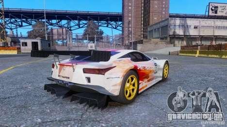 Lexus LFA SH для GTA 4 вид слева