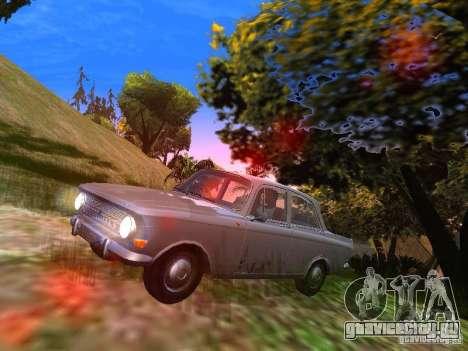 АЗЛК-412 для GTA San Andreas вид слева