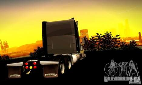 Freightliner Classic XL для GTA San Andreas вид справа