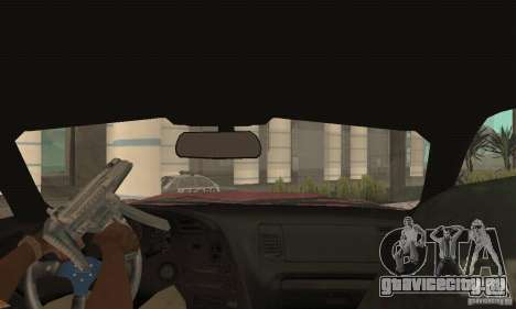 Toyota Supra Tunable 2 для GTA San Andreas вид изнутри