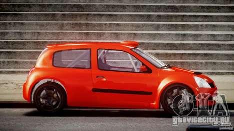 Renault Clio Sport для GTA 4 вид изнутри