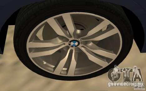 BMW X5 M 2009 для GTA San Andreas вид справа