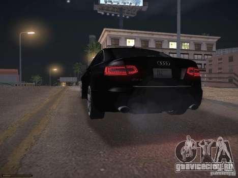 Audi RS6 2009 для GTA San Andreas вид снизу