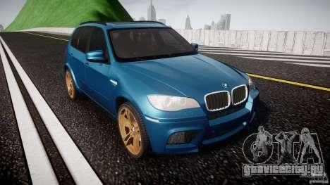 BMW X5 M-Power wheels V-spoke для GTA 4 вид сзади