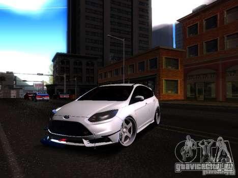 Ford Focus 2012 ST для GTA San Andreas вид слева