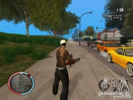 GTA IV HUD Final для GTA San Andreas четвёртый скриншот
