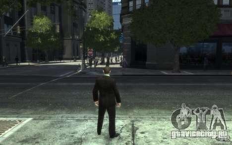 Открытые пиджаки с галстуками для GTA 4 восьмой скриншот