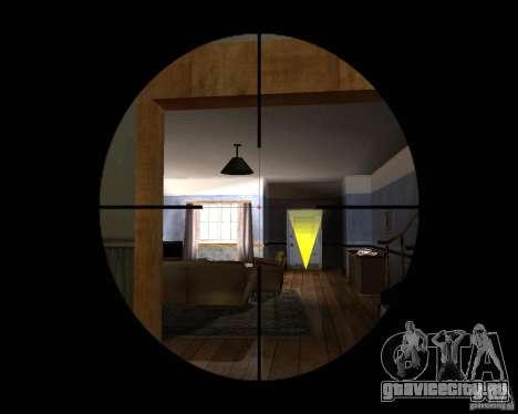 Винтовка AS 50 для GTA San Andreas третий скриншот