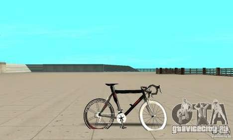 Bike Turmac Legnano для GTA San Andreas вид сзади слева