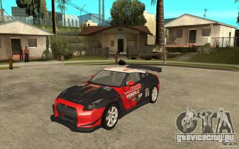 Nissan GT R Shift 2 Edition для GTA San Andreas вид слева
