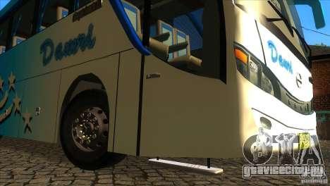 Hino New Travego RK1 для GTA San Andreas вид сбоку