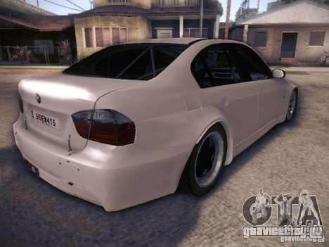 BMW 320SI Drift для GTA San Andreas вид сзади