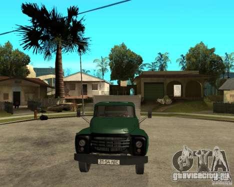 Зил 133 самосвал для GTA San Andreas вид сзади