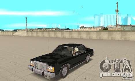 Ford LTD Crown Victoria 1985 MIB для GTA San Andreas