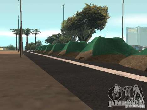 Drift track and stund map для GTA San Andreas третий скриншот