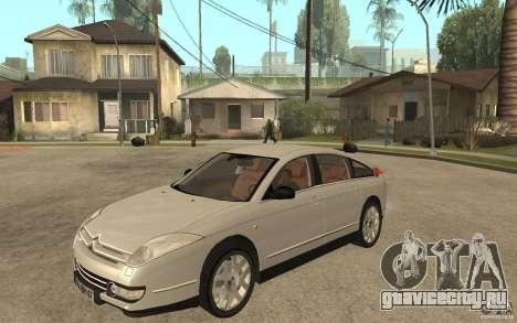 Citroen C6 для GTA San Andreas