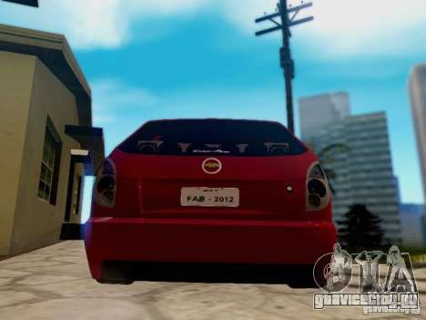 Chevrolet Celta 1.0 VHC для GTA San Andreas вид слева
