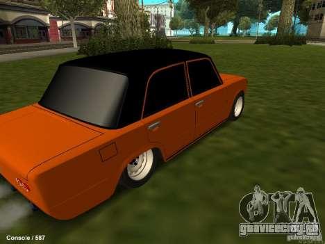 ВАЗ 2101 Бродяга для GTA San Andreas вид изнутри