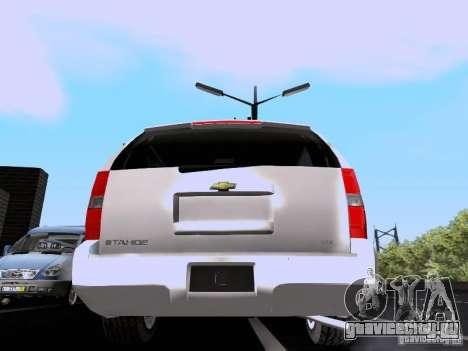 Chevrolet Tahoe LTZ 2013 для GTA San Andreas вид справа