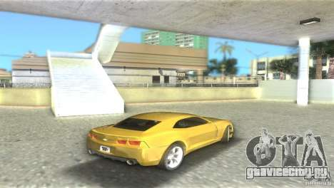 Chevrolet Camaro для GTA Vice City вид справа