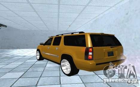 Chevrolet Suburban 2010 для GTA San Andreas вид слева