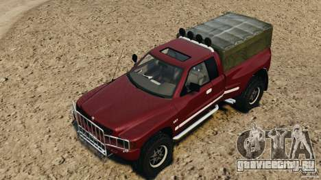 Dodge Ram 2500 Army 1994 v1.1 для GTA 4 салон