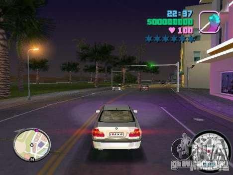 Спидометр для GTA Vice City второй скриншот