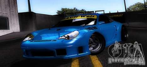 Porsche 911 GT3  RWB для GTA San Andreas вид слева