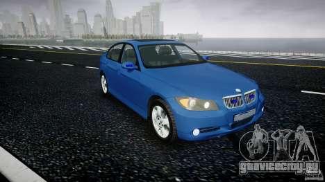 BMW 3-Series Unmarked [ELS] для GTA 4 вид справа