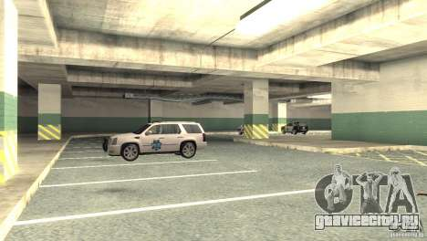 San Fierro Police Station 1.0 для GTA San Andreas четвёртый скриншот
