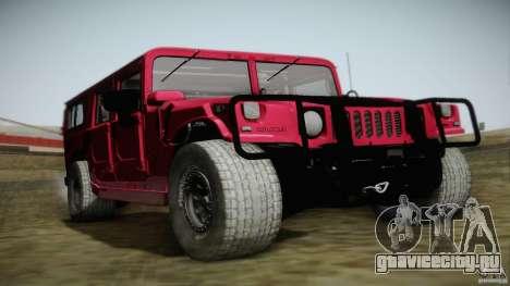 Hummer H1 Alpha Off Road Edition для GTA San Andreas