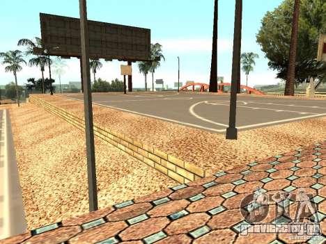 Новая баскетбольная площадка в Лос Сантосе для GTA San Andreas седьмой скриншот