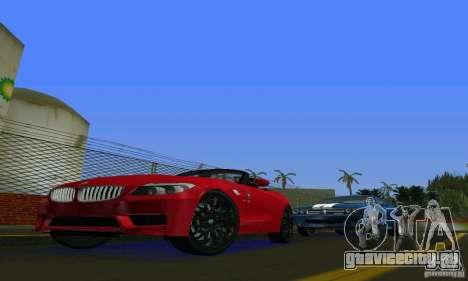 BMW Z4 V10 2011 для GTA Vice City вид слева